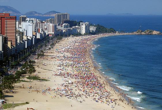 Ipaneman beach, Rio de Janeirossa