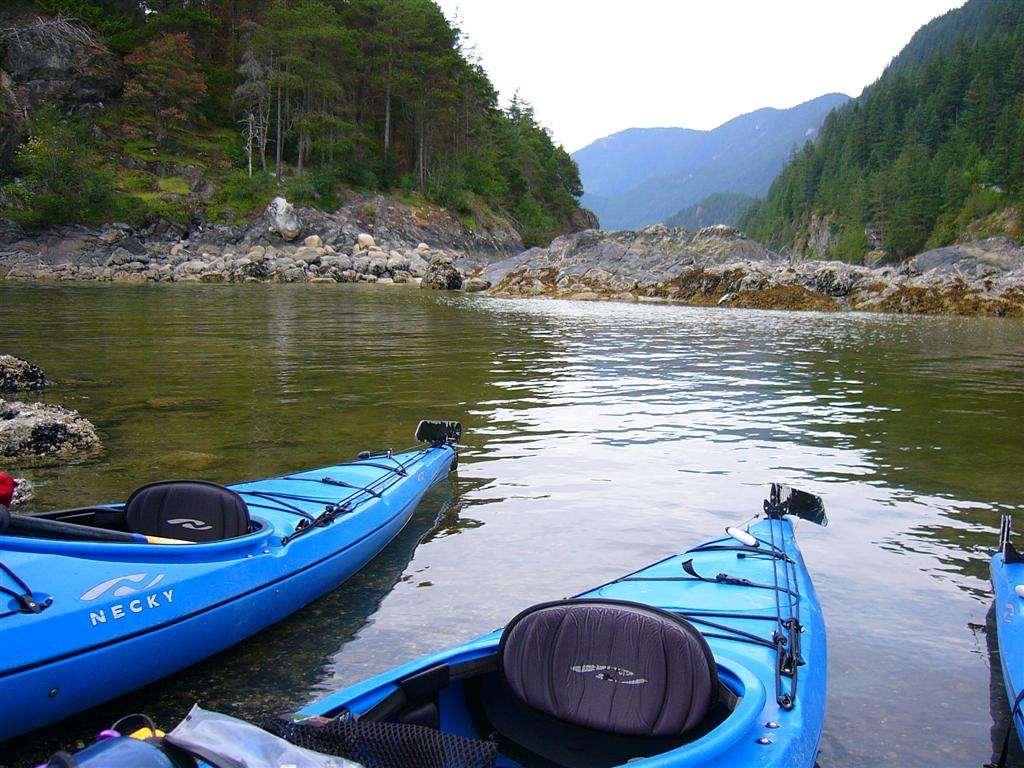 Kayaking Twin Islands