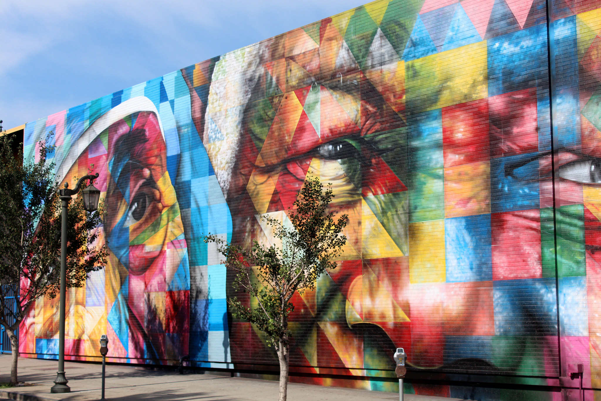 Admire the worlds largest street art mural in rio
