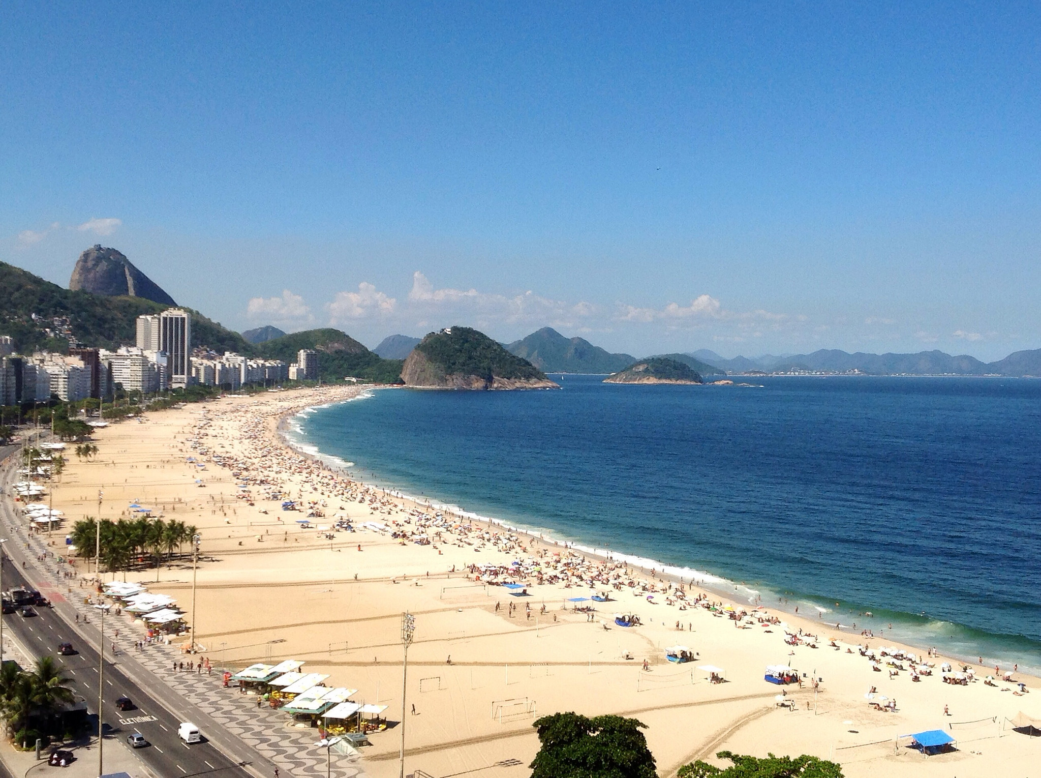 Beaches of Copacabana